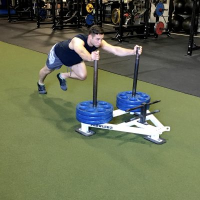 Heavy Sled Push