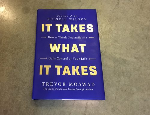 "Book Review: ""It Takes What It Takes"" by Trevor Moawad"